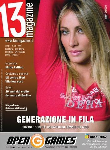 a69a763f939b 13 Magazine Ottobre 2009 by Visioni Grafiche srl - issuu