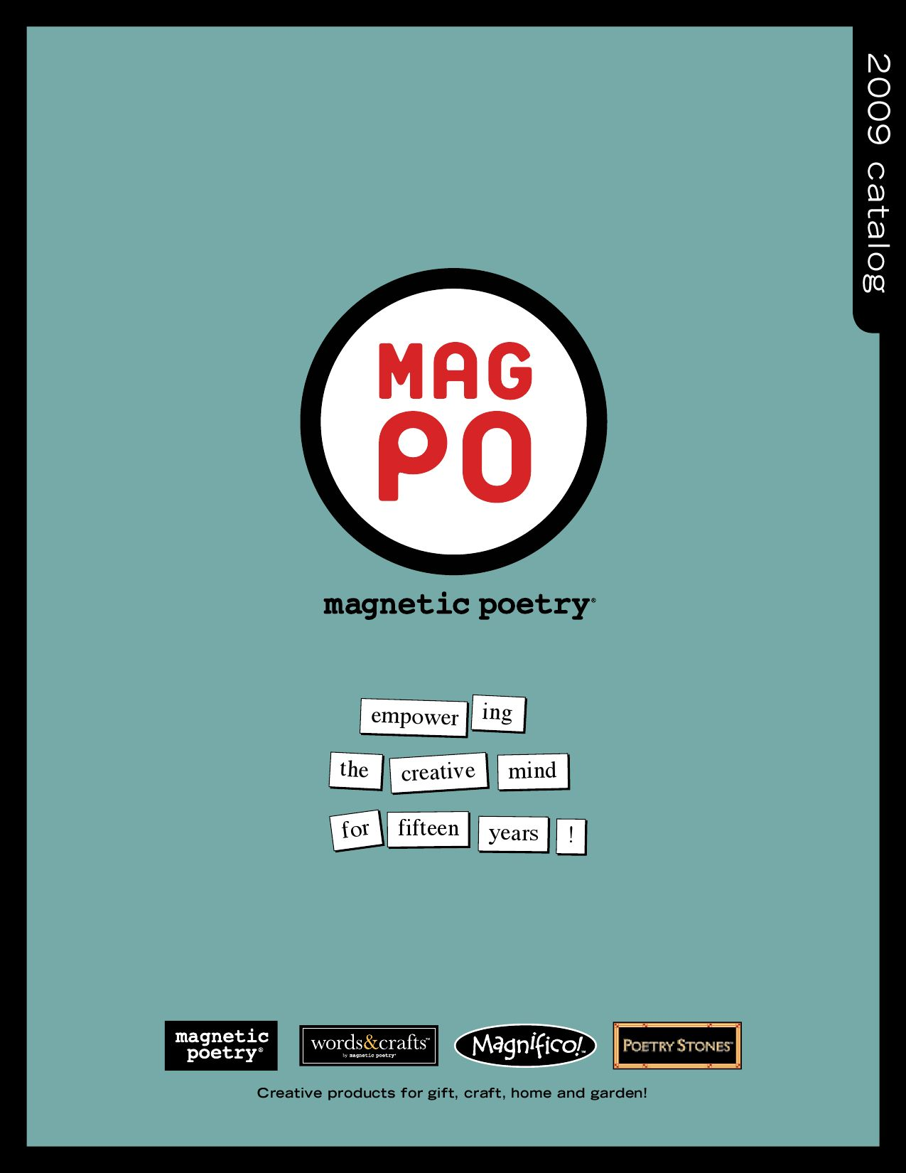 Magnetic Poetry Catalog By Ilya M