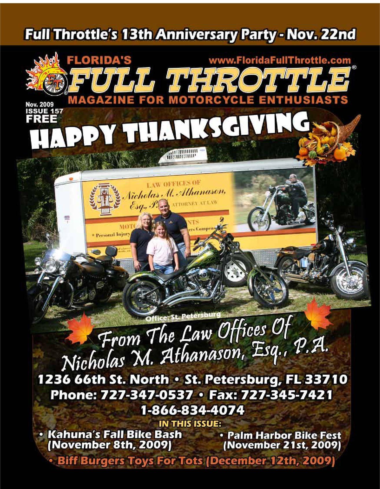 5611 sheldon road - November 09 Full Throttle Magazine By Florida Full Throttle Magazine Issuu