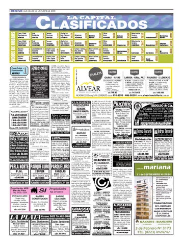 Clasificados Jueves 29 de Octubre by Diario La Capital - issuu 55c24063429