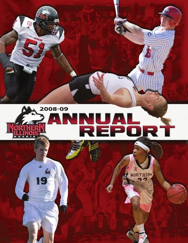 2008-09 NIU Annual Report by Russell Houghtaling - issuu