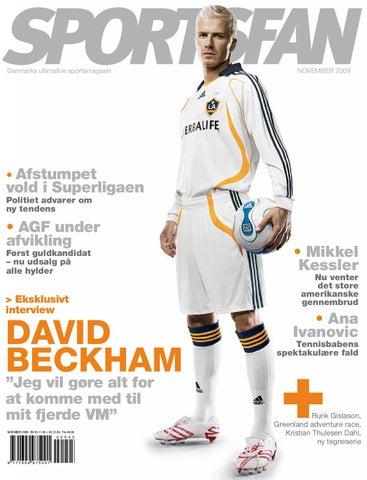 7bc59bd6 Sportsfan - nr. 45, November 2009 by 18k - freelance grafisk design ...