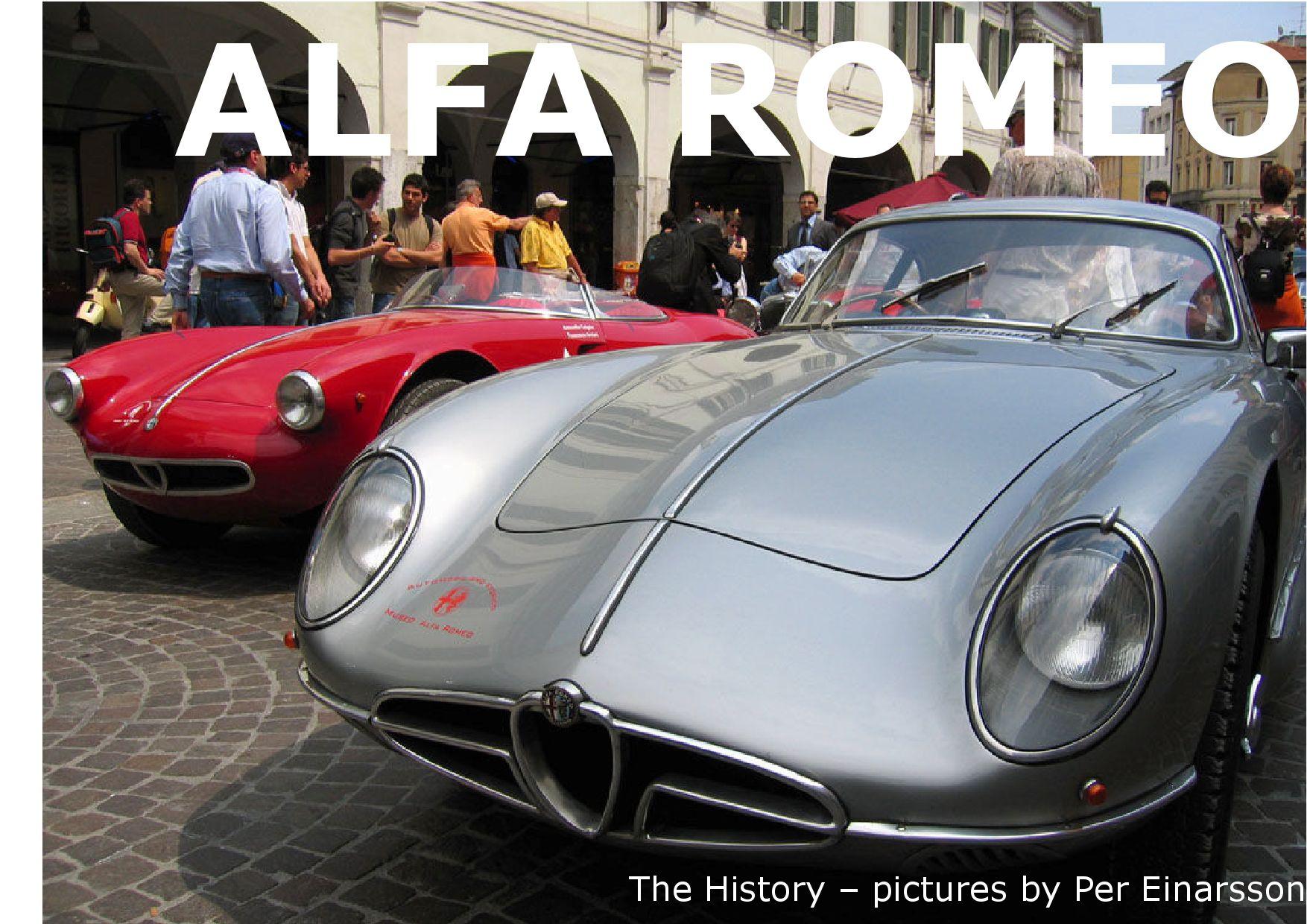 History Of Alfa Romeo By Per Einarsson Issuu Timing Gear