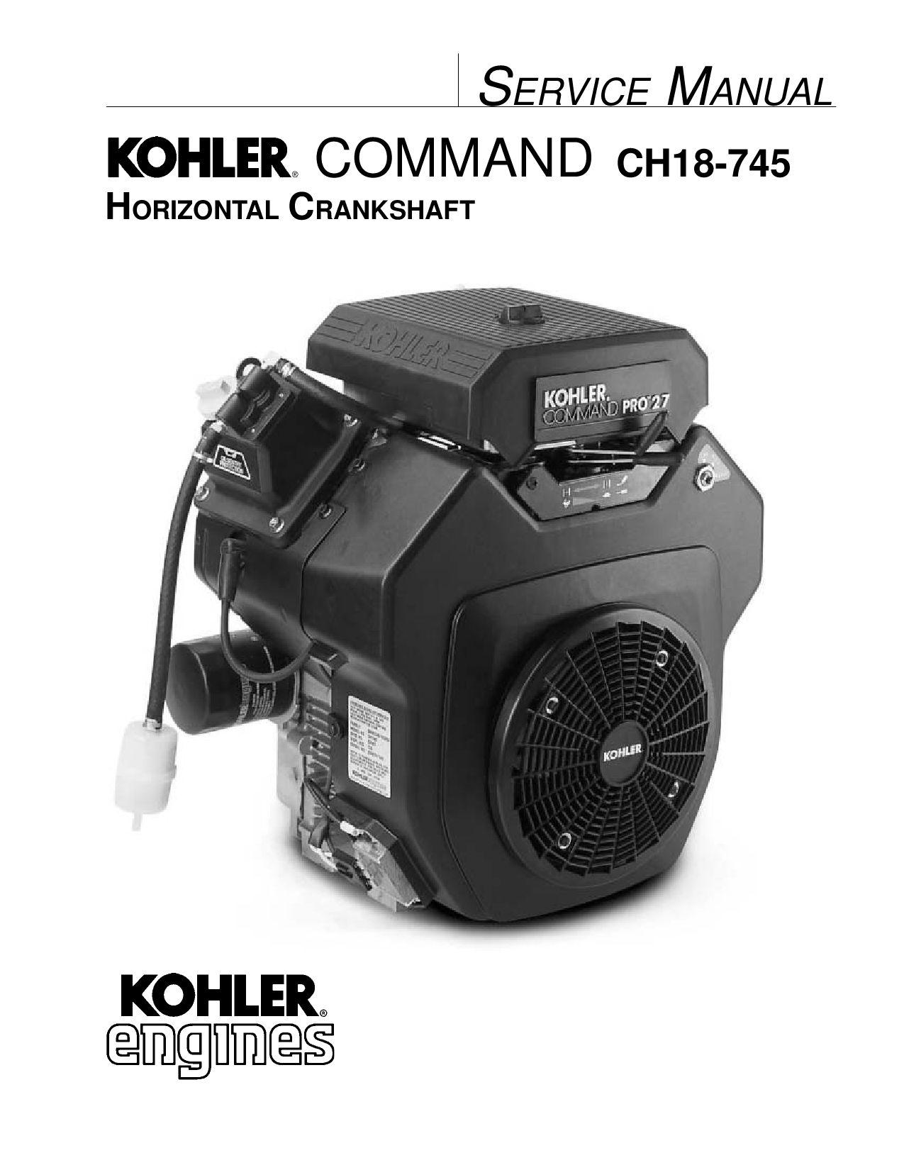 ko_comnd Kohler Engine TIPS PRO FORCE BLOWER 2009 by