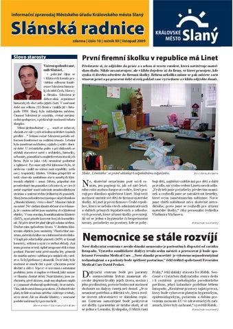 ffead316deb informační zpravodaj Městského úřadu Královského města Slaný