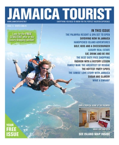 current tourism issues in jamaica Edmund bartlett, jamaica's minister of tourism, who arrived in toronto  ease  concerns in light of the island's current state of public emergency.