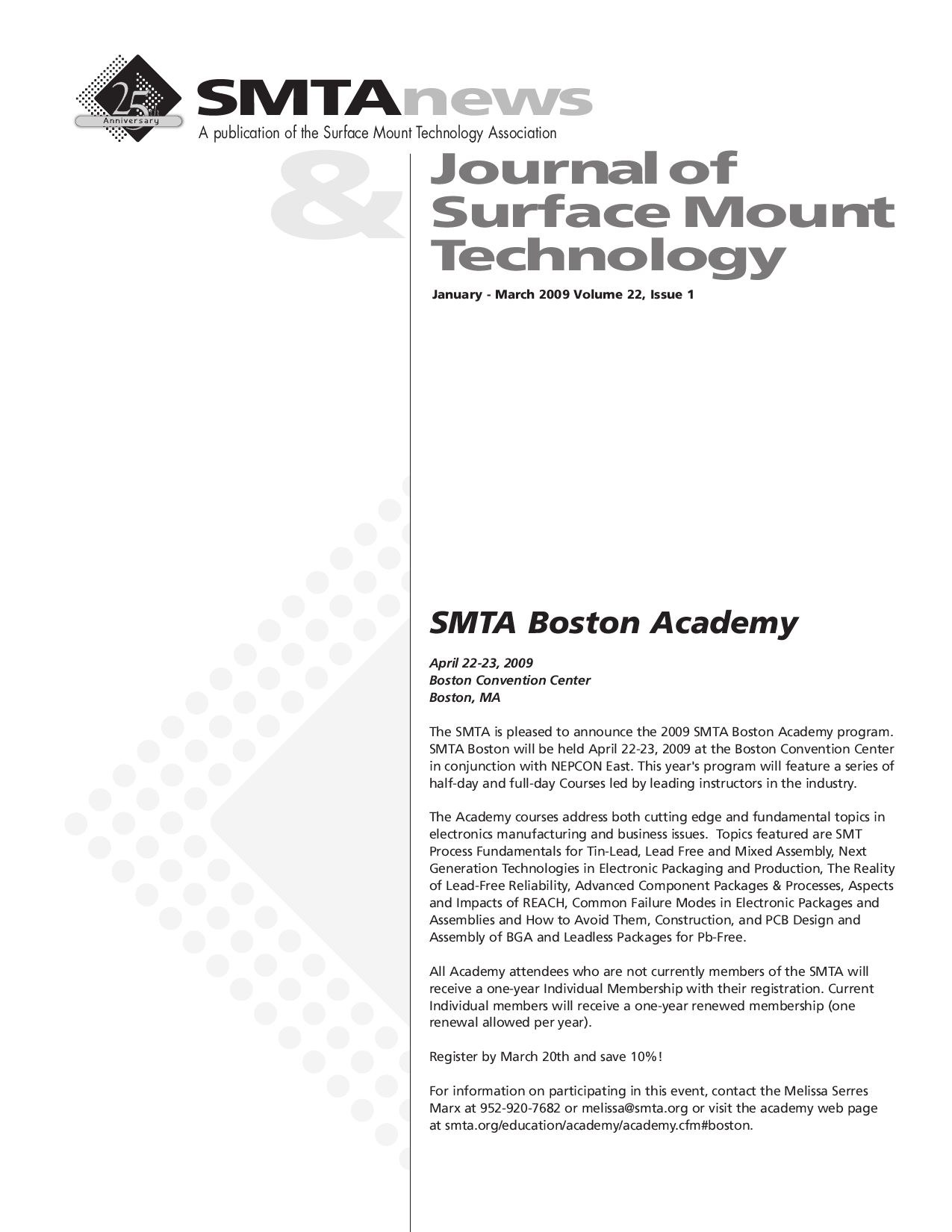 Smtanews And Journal Of Smt Volume 22 Issue 1 By Surface Mount Bga Pcb 8 Layers Printed Circuit Board Ourpcb Technology Association Issuu