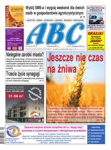 Gazeta Abc 24 Lipca 2009 By Sekretarz Redakcji Issuu