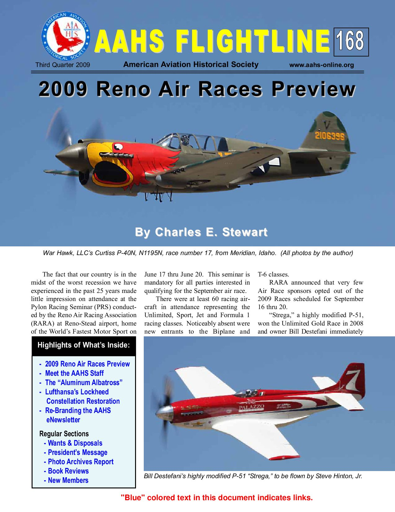 Aahs Flightline 168 Q 3 2009 By American Aviation Historical Society Aahs Issuu