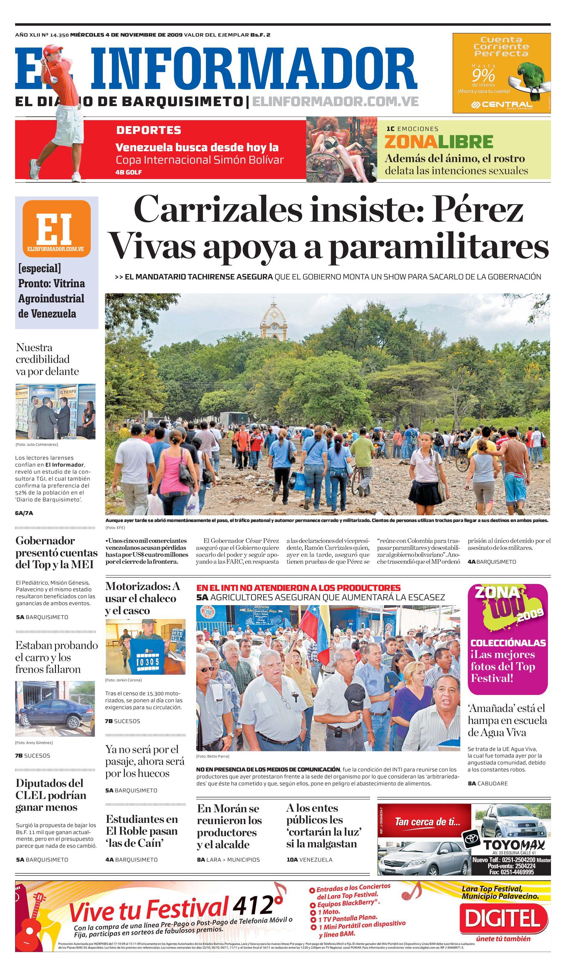 El Informador impreso 2009 11 04 by El Informador - Diario