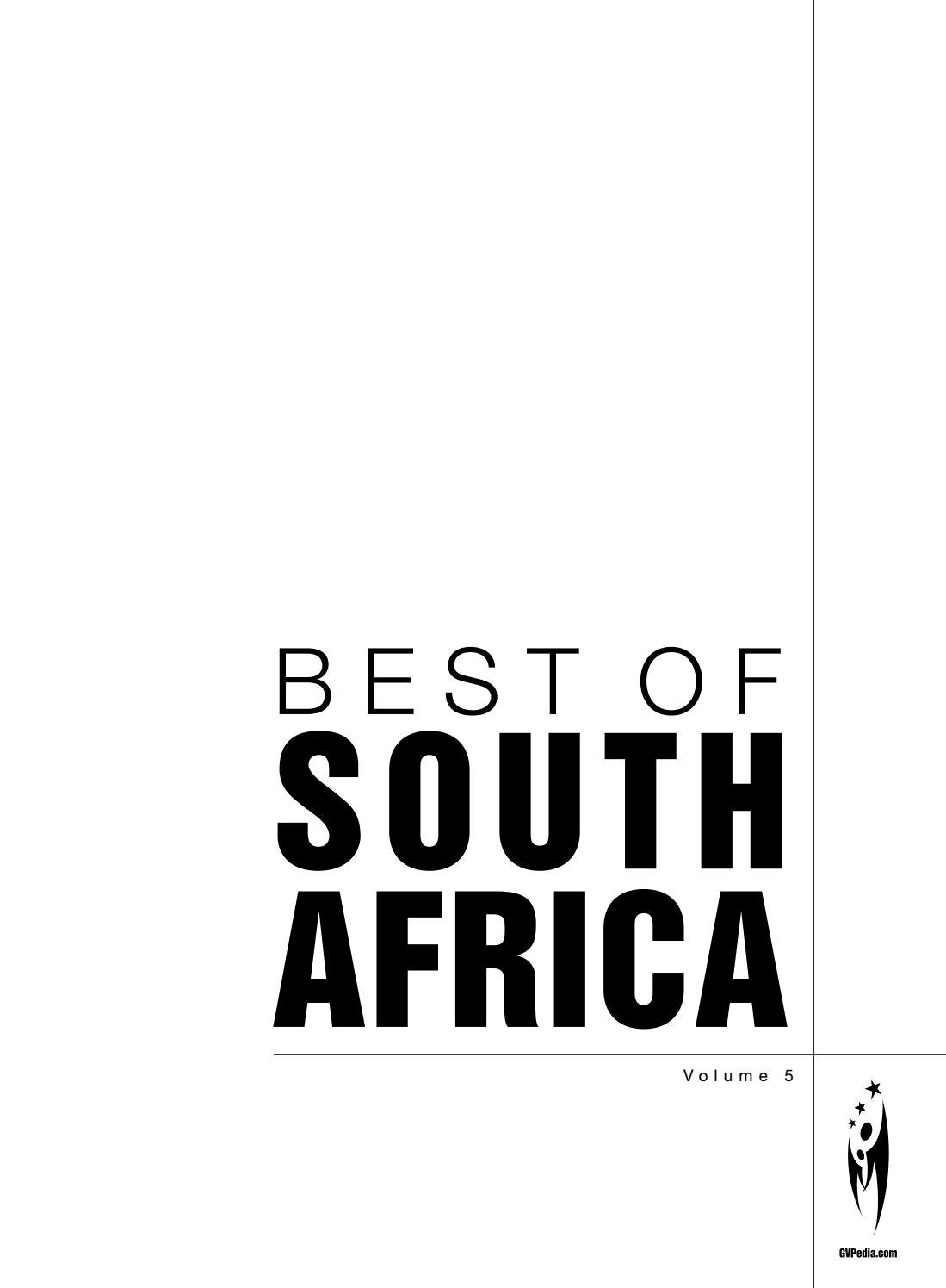634d7eb97f7f BEST OF SOUTH AFRICA - Volume 5 by Sven Boermeester - issuu
