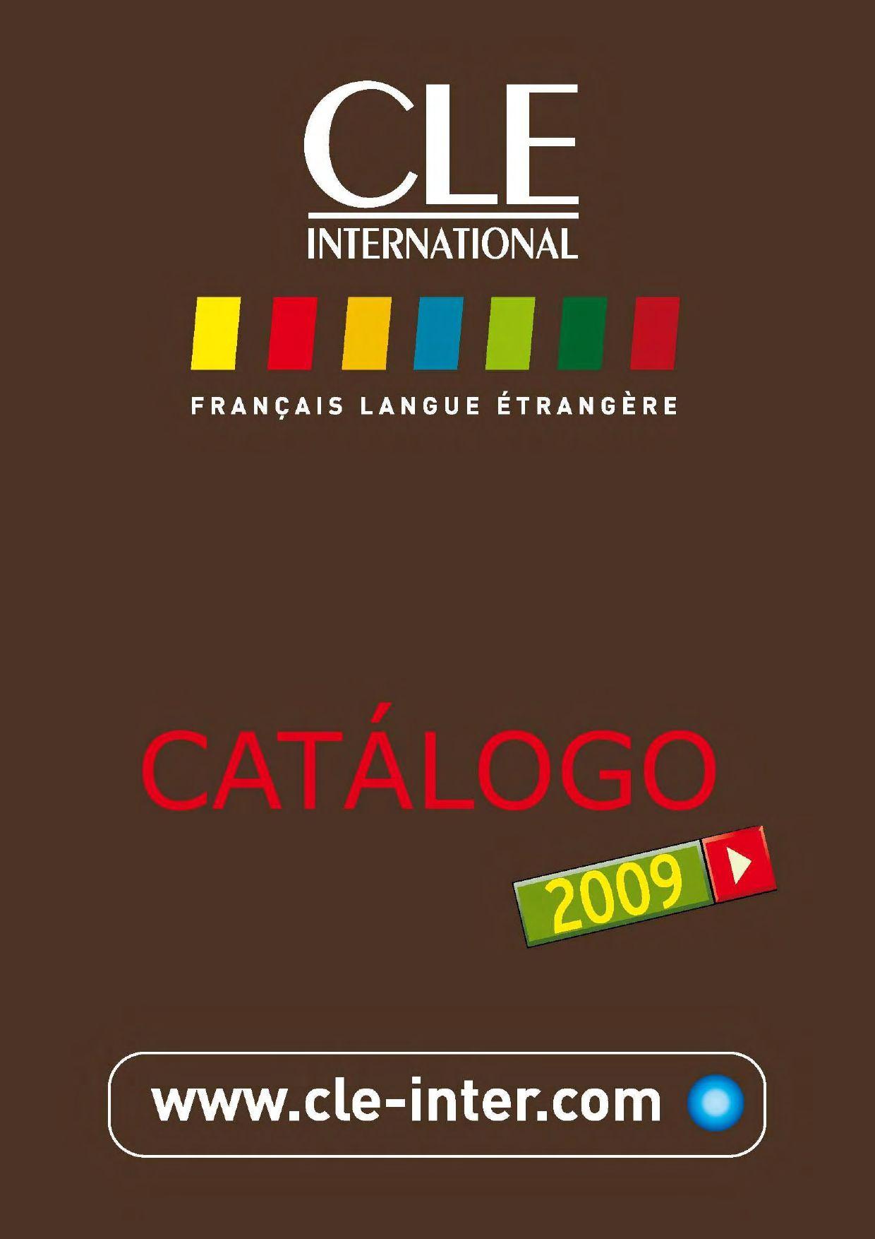 Catalogue Cle International En Espagnol By Cle International