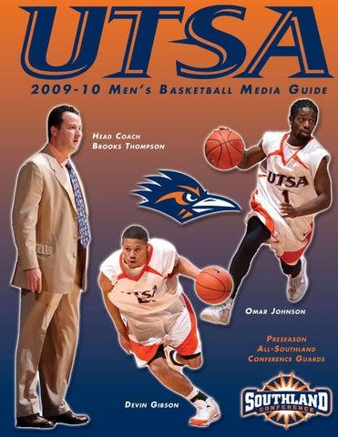 c0fbcb74c 2009-10 UTSA Men s Basketball Media Guide by UTSA Athletics ...