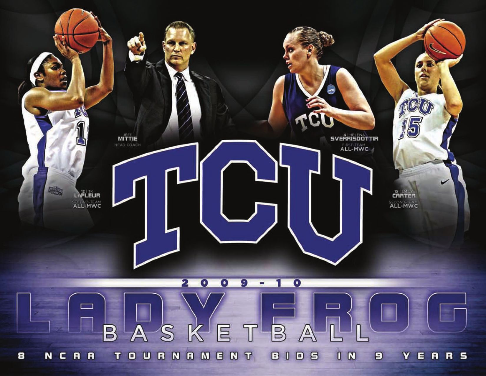 b4349dd7b0cd 2009-10 TCU Women s Basketball Media Guide by TCU Athletics - issuu
