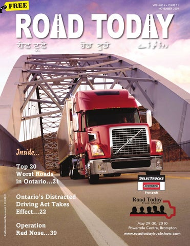 NOV 2009 by Road Today - issuu
