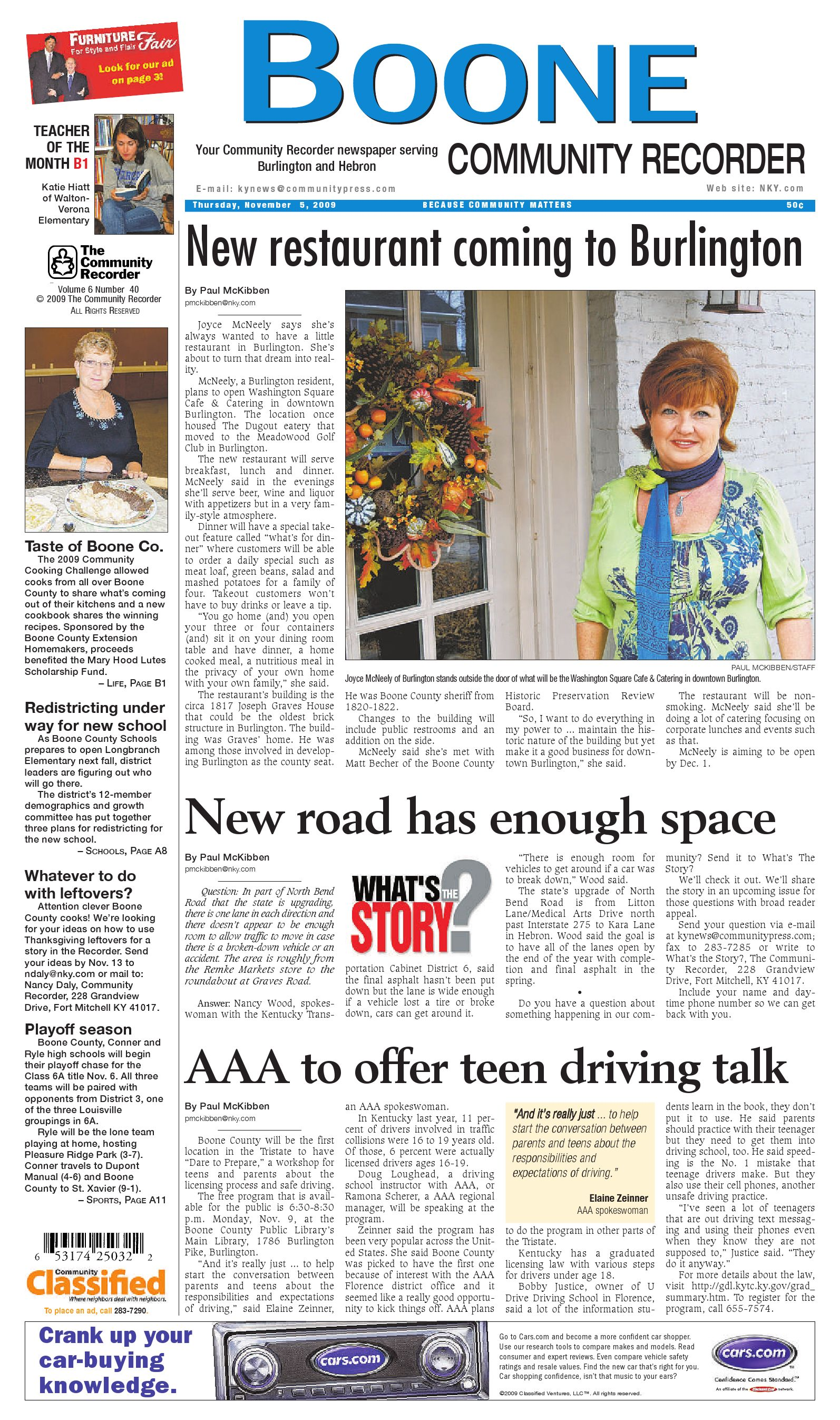boone-community-recorder-110509 by Enquirer Media - issuu