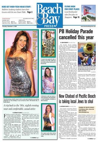 212e0027 Beach & Bay Press, November 5th, 2009 by San Diego Community ...