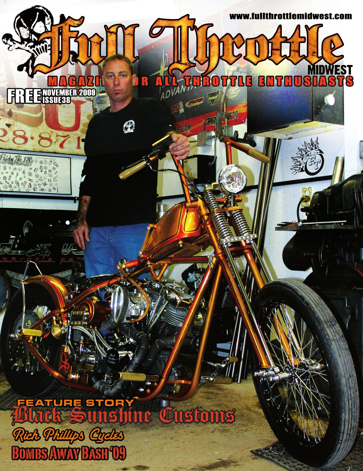 Full Throttle Midwest Issue 38 By