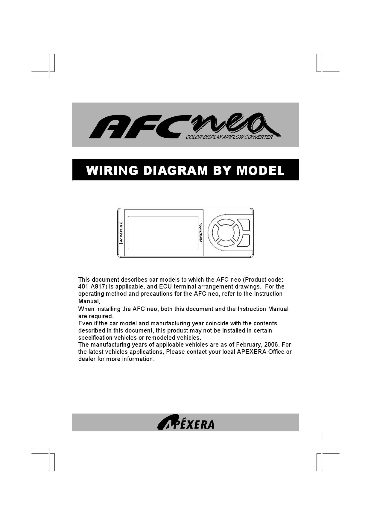 1nz ecu pinout diagram 1nz image wiring diagram neo afc wiring diagram by honda acura club de issuu on 1nz ecu pinout