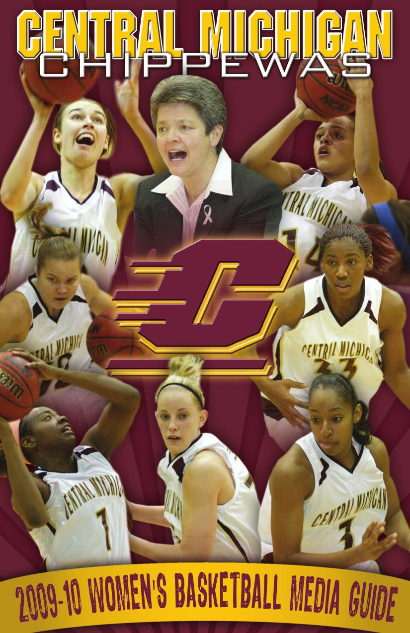 e2b3ab24ed86 2009-10 Central Michigan Women s Basketball Media Guide by Mike ...