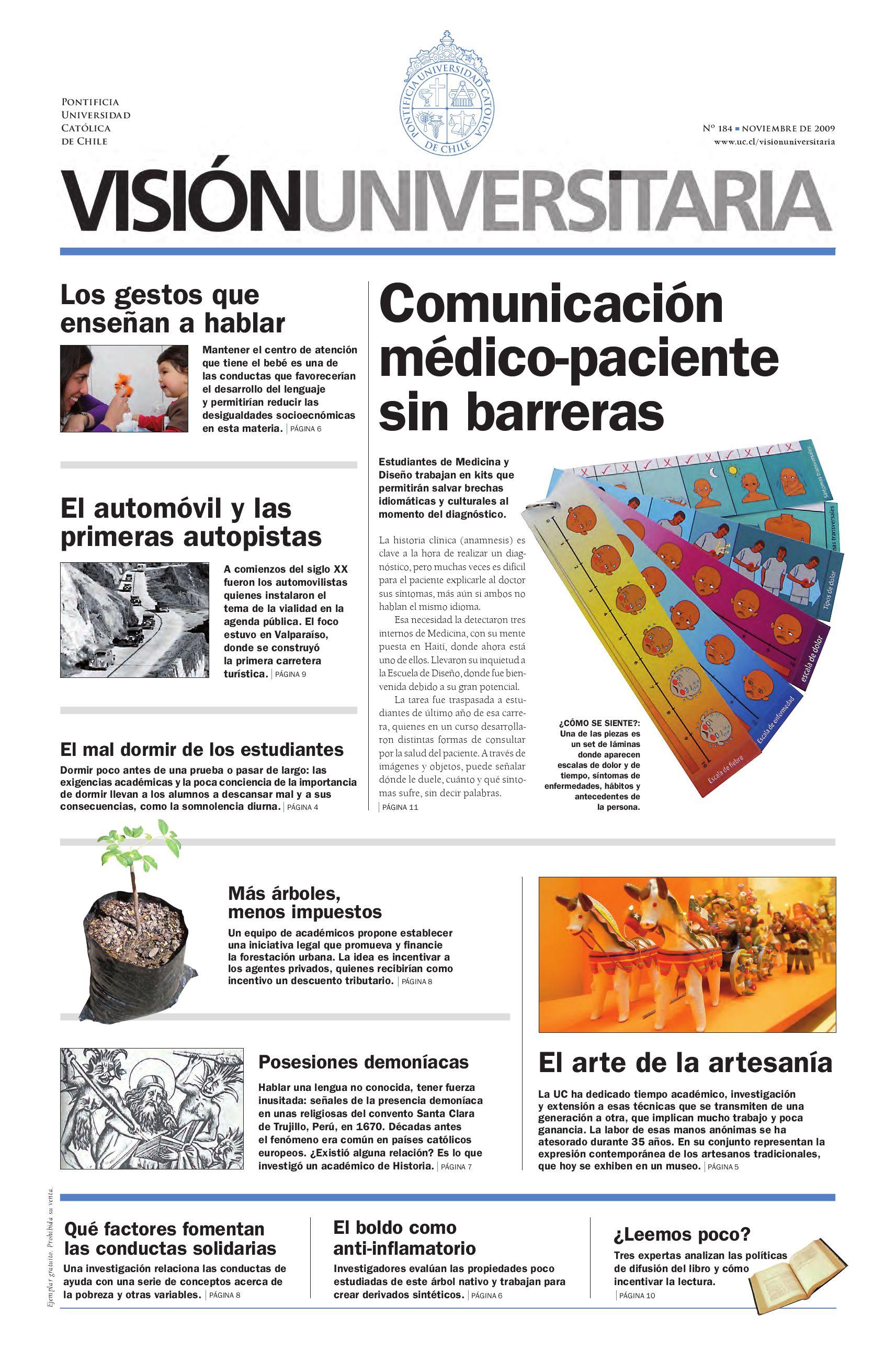 Visión Universitaria Nº184 by Publicaciones UC - issuu
