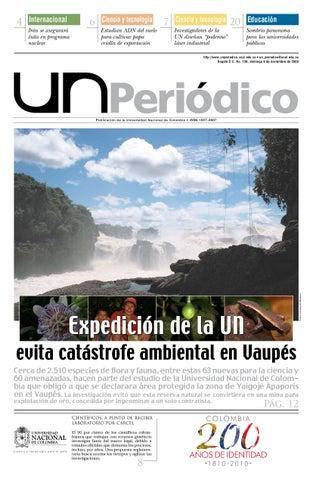 Un Periodico No 128 By Unimedios Universidad Nacional De Colombia