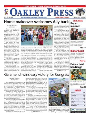 Oakley Press 11.6.09 by Brentwood Press   Publishing - issuu 1a5b2b09bd