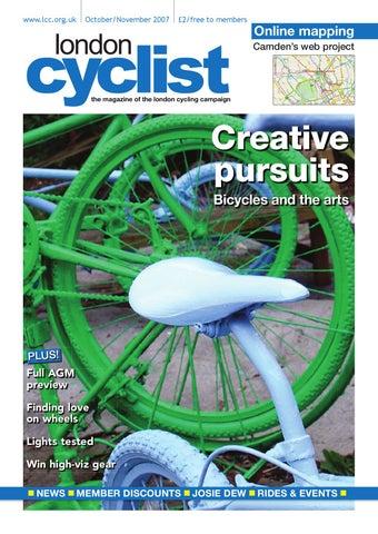 London Cyclist Magazine October November 2007 by London