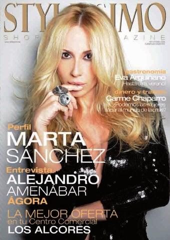 Peliculas de marta sanchez porno Stylissimo Nº 2 Centro Comercial Los Alcores By Stylissimo Magazine Issuu