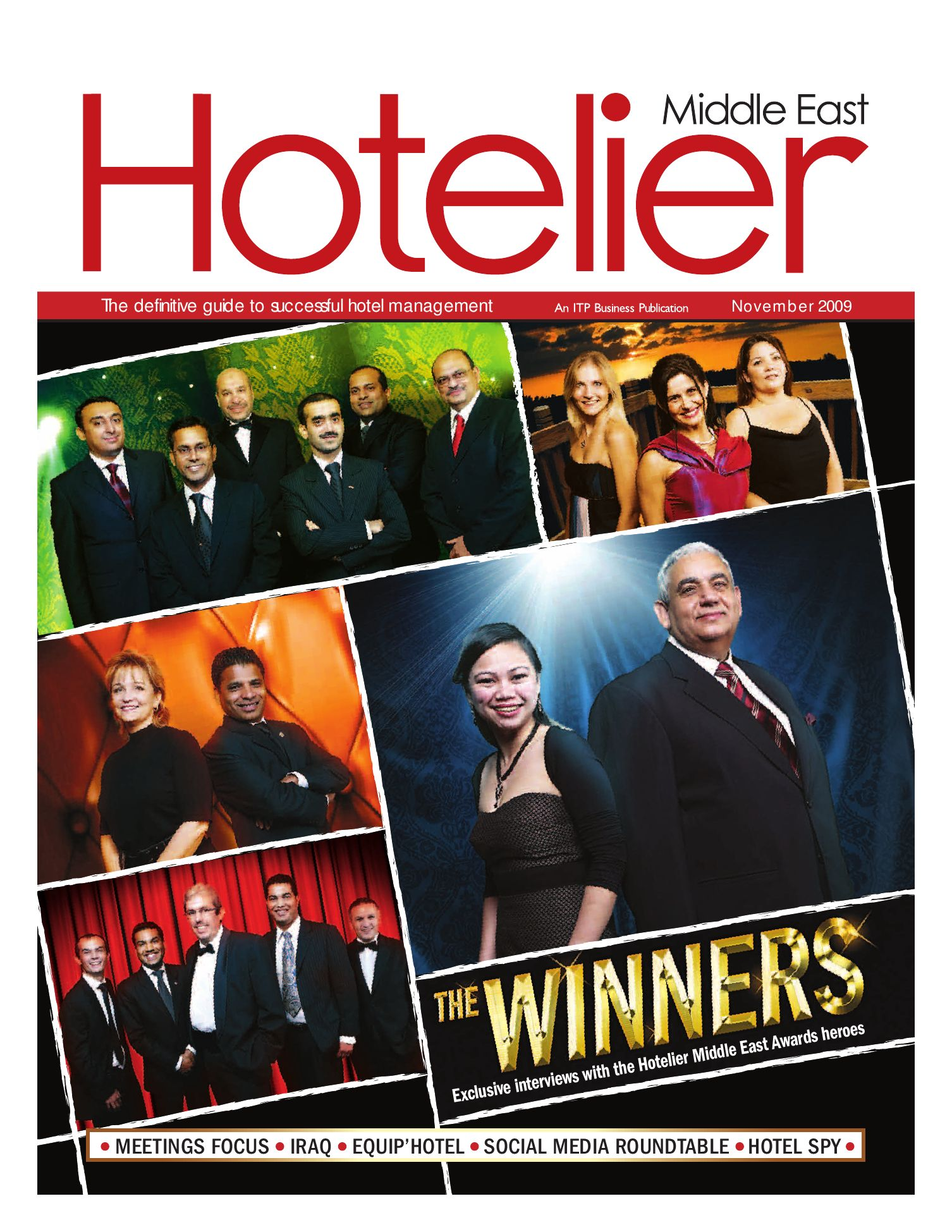 Hotelier Middle East - Nov 2009 by ITP Business Publishing - issuu