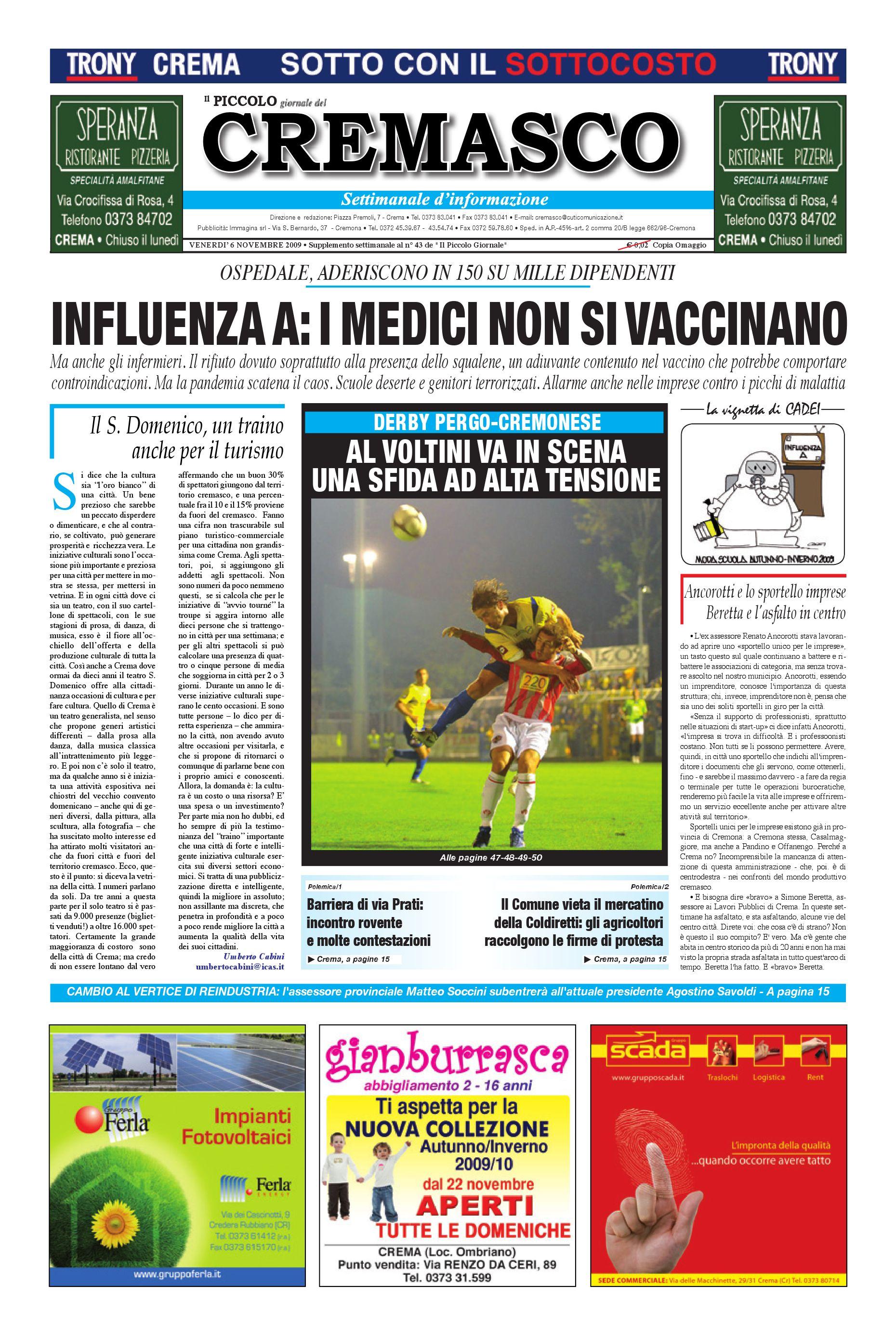 Il Piccolo del Cremasco by promedia promedia - issuu 91f99804abe6