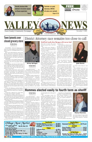 76c1265f234332 Valley News 11-07-09 by Sun Community News and Printing - issuu