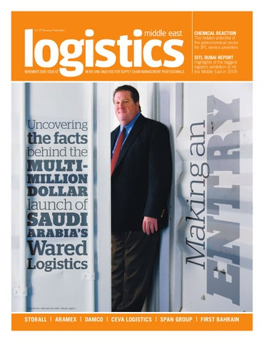 Logistics Middle East - Nov 2009 by ITP Business Publishing