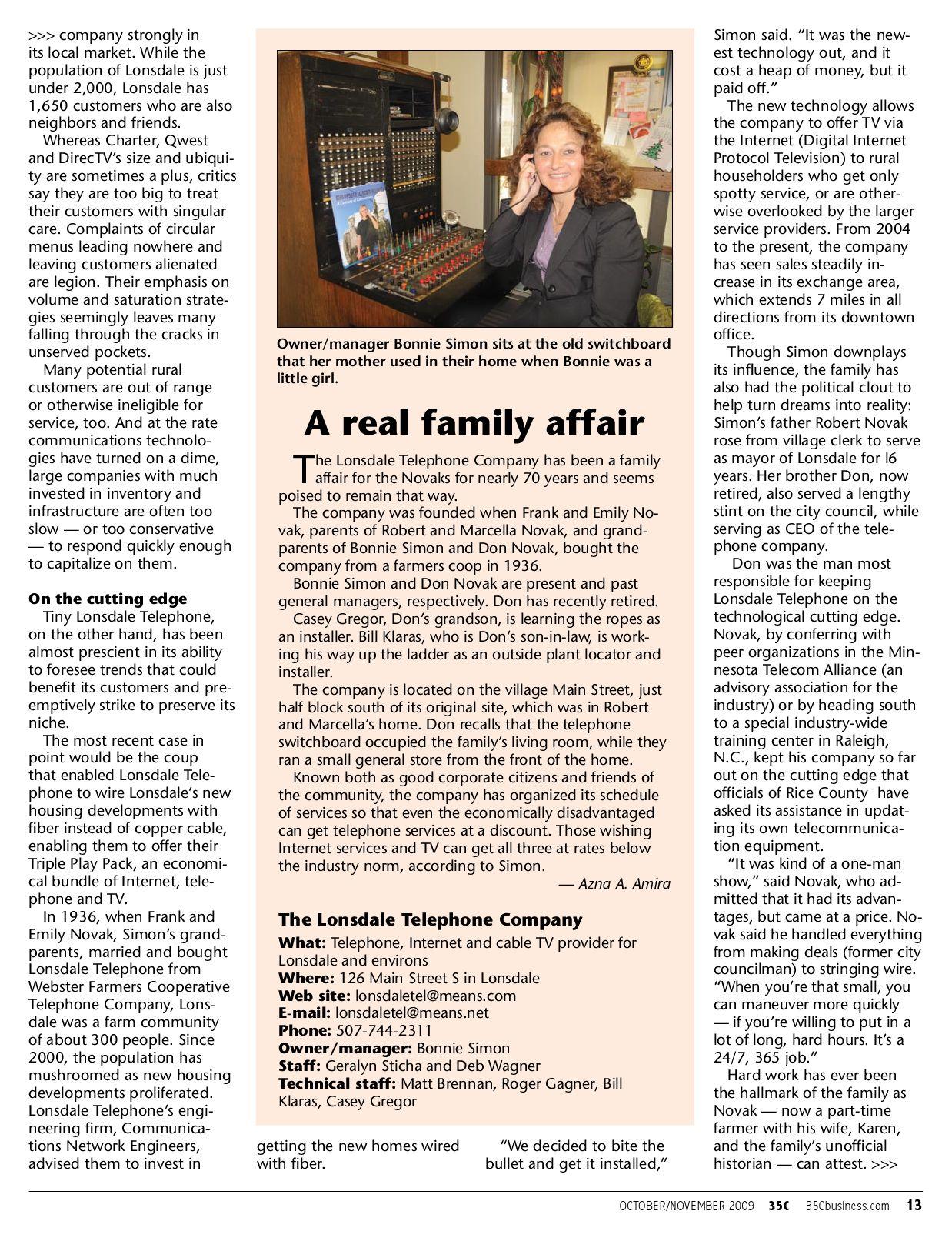 35C Oct Nov Issue by I-35 Target Media - issuu