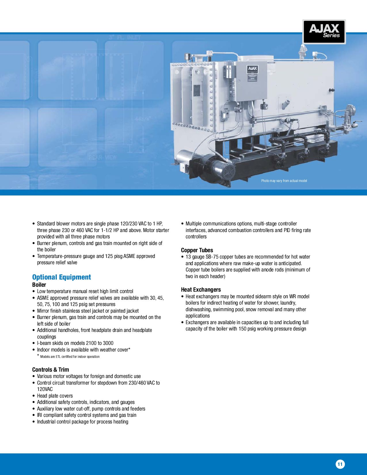 Ajax Water Boilers by Ajax Boiler Inc. - issuu