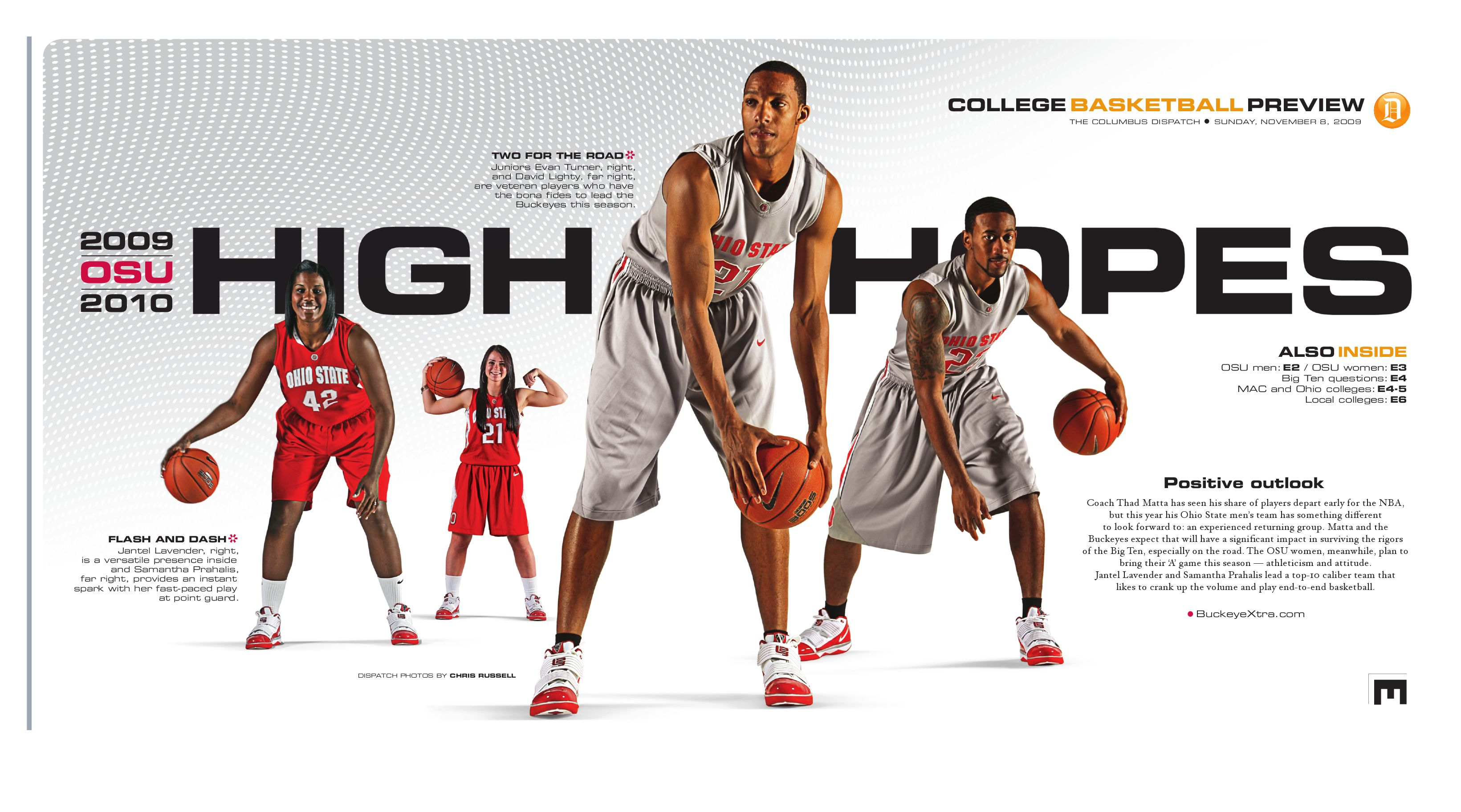 8e34ec43133 2009-2010 Ohio State College Basketball Preview by The Columbus Dispatch -  issuu