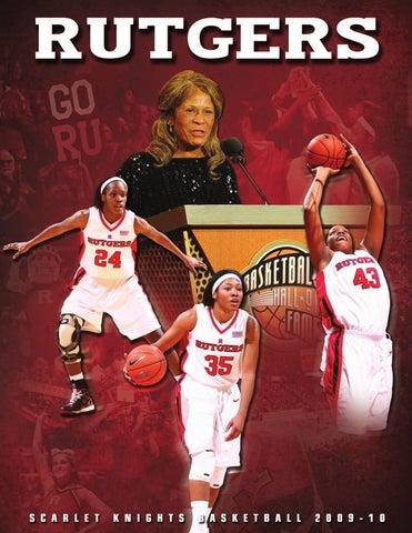 87de37f978 2009-10 Rutgers Women s Basketball Media Guide by Rutgers Athletics ...