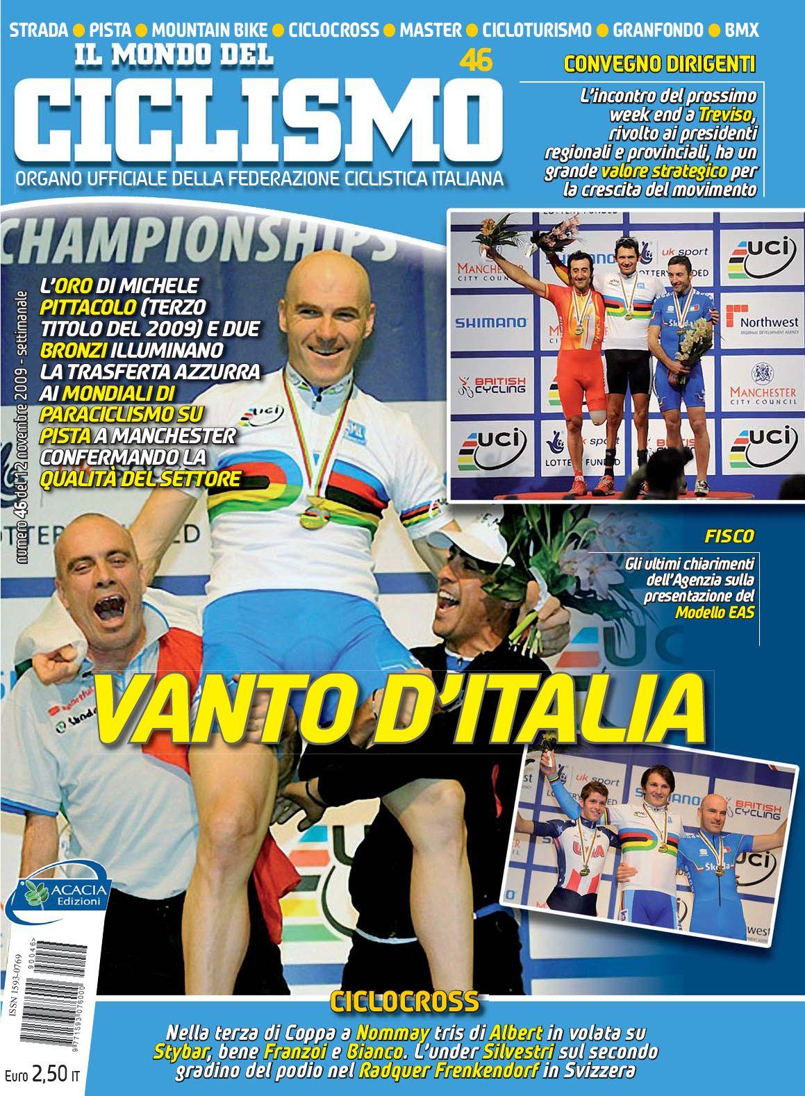 """N 46 2009 De """"Il Mondo Del Ciclismo"""" By Federciclismo Issuu"""