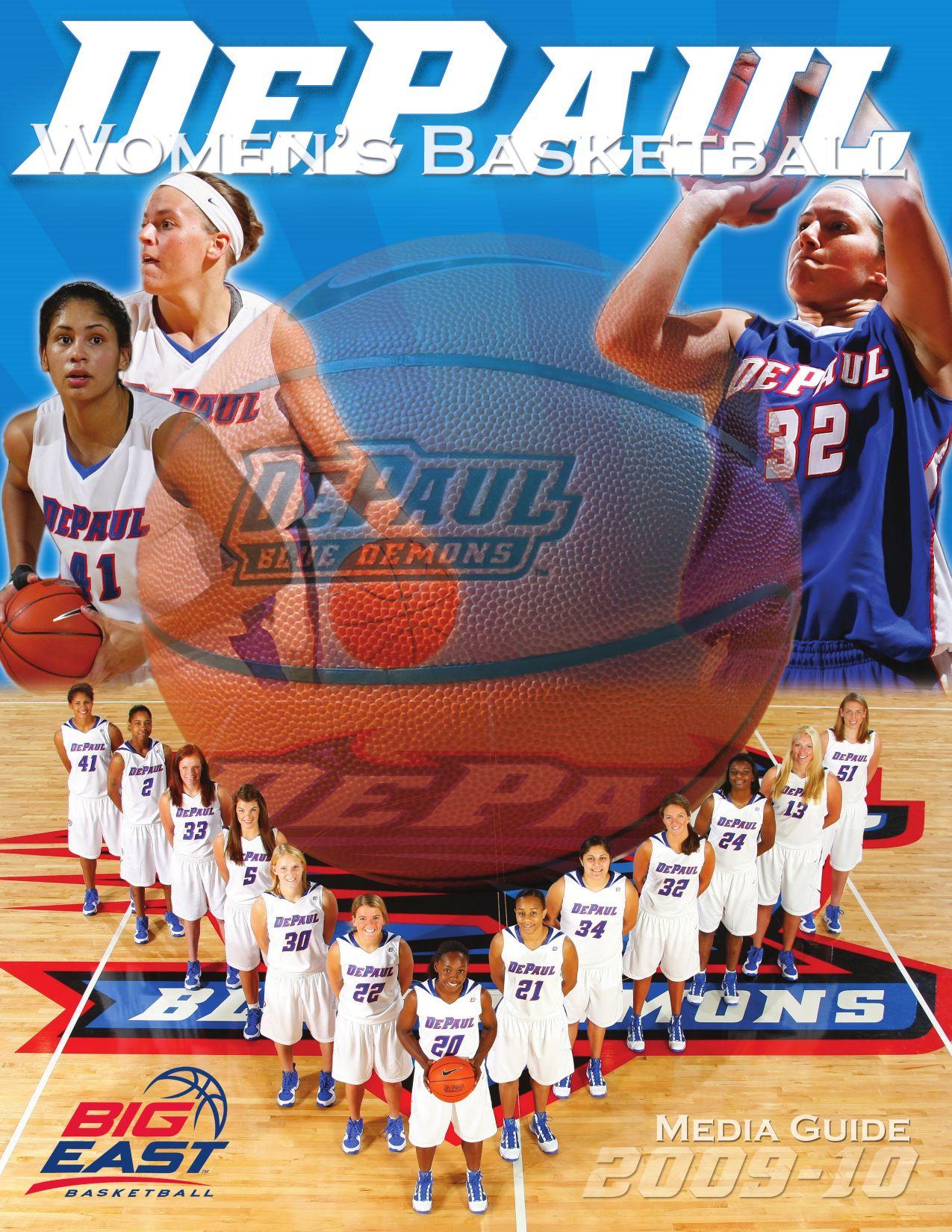 ff228a3f058c 2009-10 Women s Basketball Media Guide by DePaul Athletics - issuu