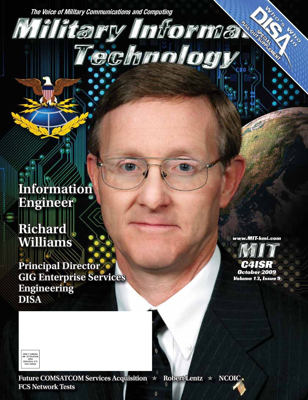 MIT DISA Who's Who and FCSA GSA/DISA Issue 0909 by Ted Kelly