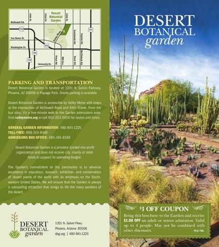 page 1 - Desert Botanical Garden Coupon