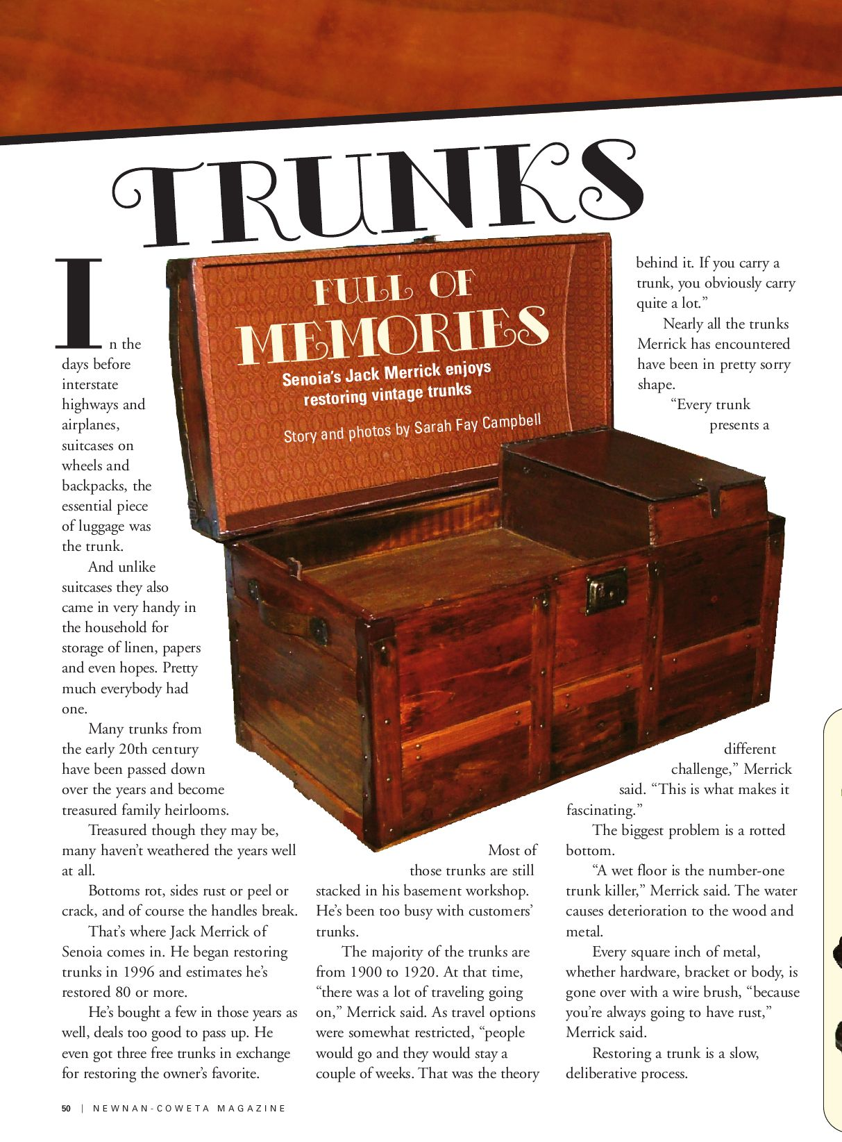 Newnan-Coweta Magazine, Nov/Dec 2009