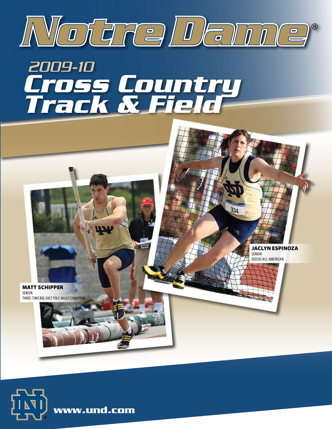on sale 8aed0 b83d2 2009-10 Notre Dame Cross Country Track  Field Information Guide by Chris  Masters - issuu