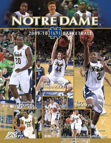 2009-10 Notre Dame Men s Basketball Information Guide by Chris ... 2a630fa78