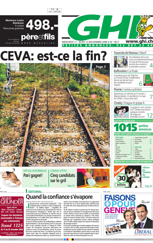 GHI 12.11.09 by GHI   Lausanne Cités - issuu d979eb001efc