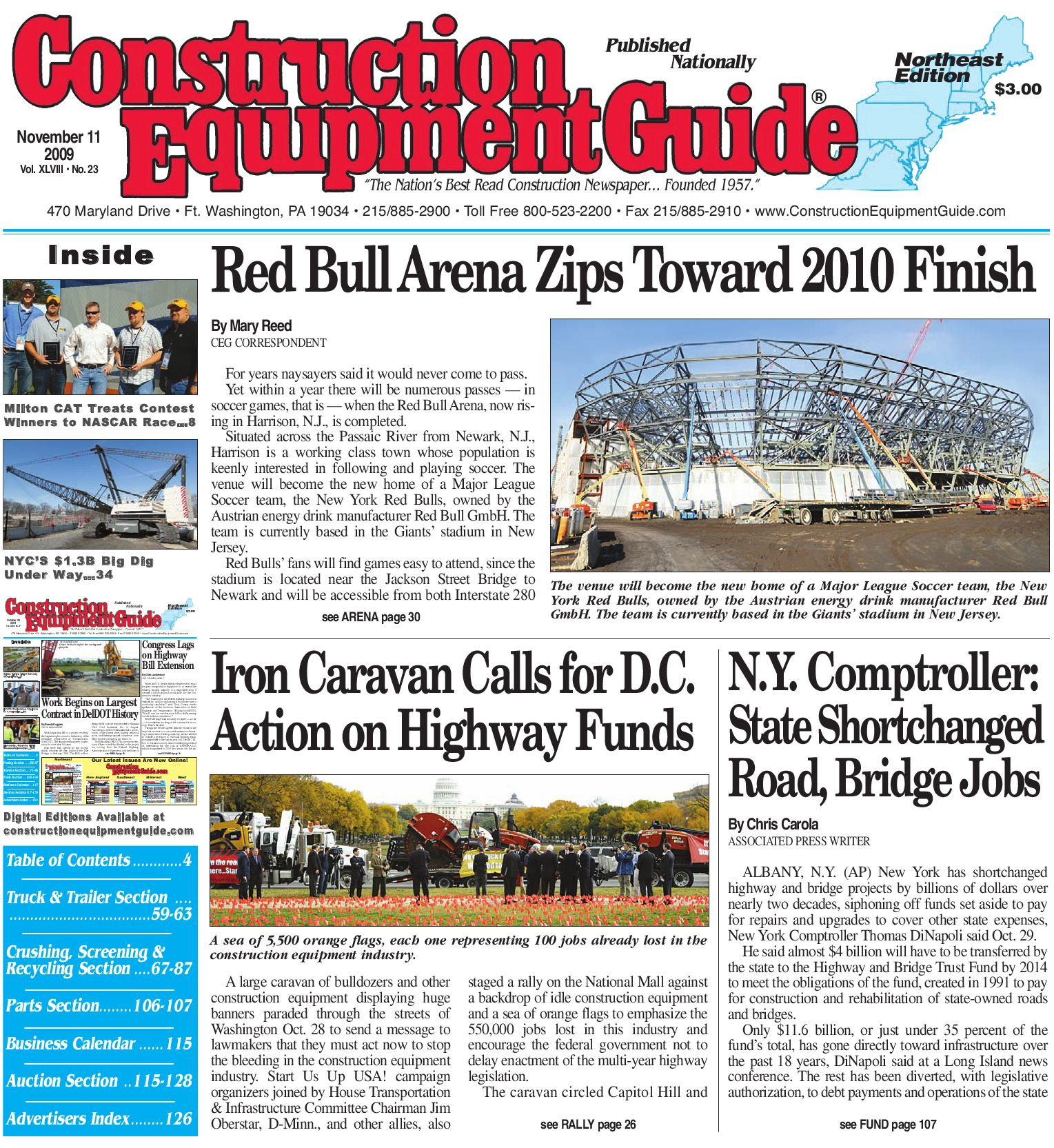Northeast #23, 2009 - CEG by Construction Equipment Guide - issuu