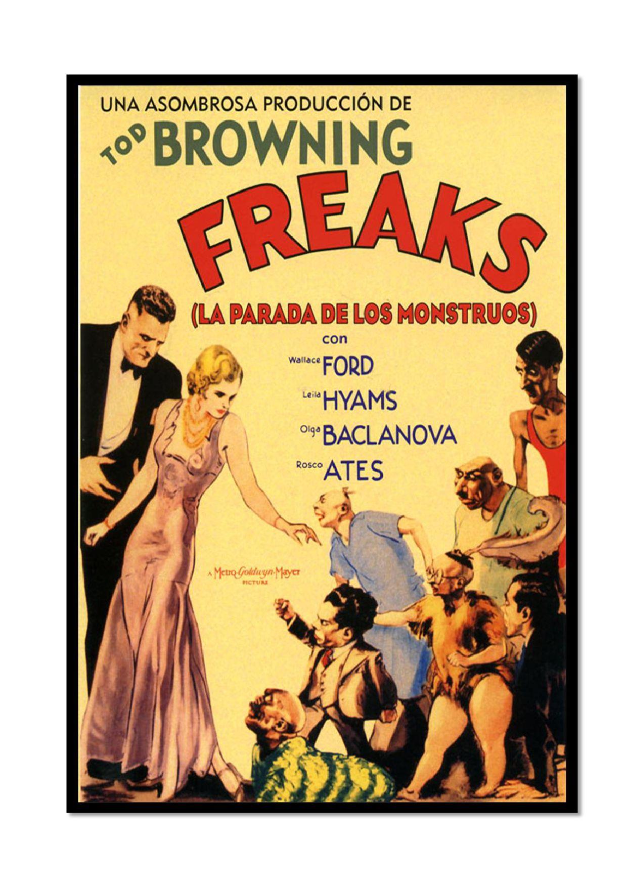 Analizando la discapacidad a través del cine. \'Freaks. La parada de ...