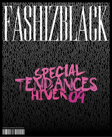 FASHIZBLACK MAGAZINE - NOV DEC 09 - SPECIAL TENDANCES DE L HIVER by ... a6dc580b3bdc