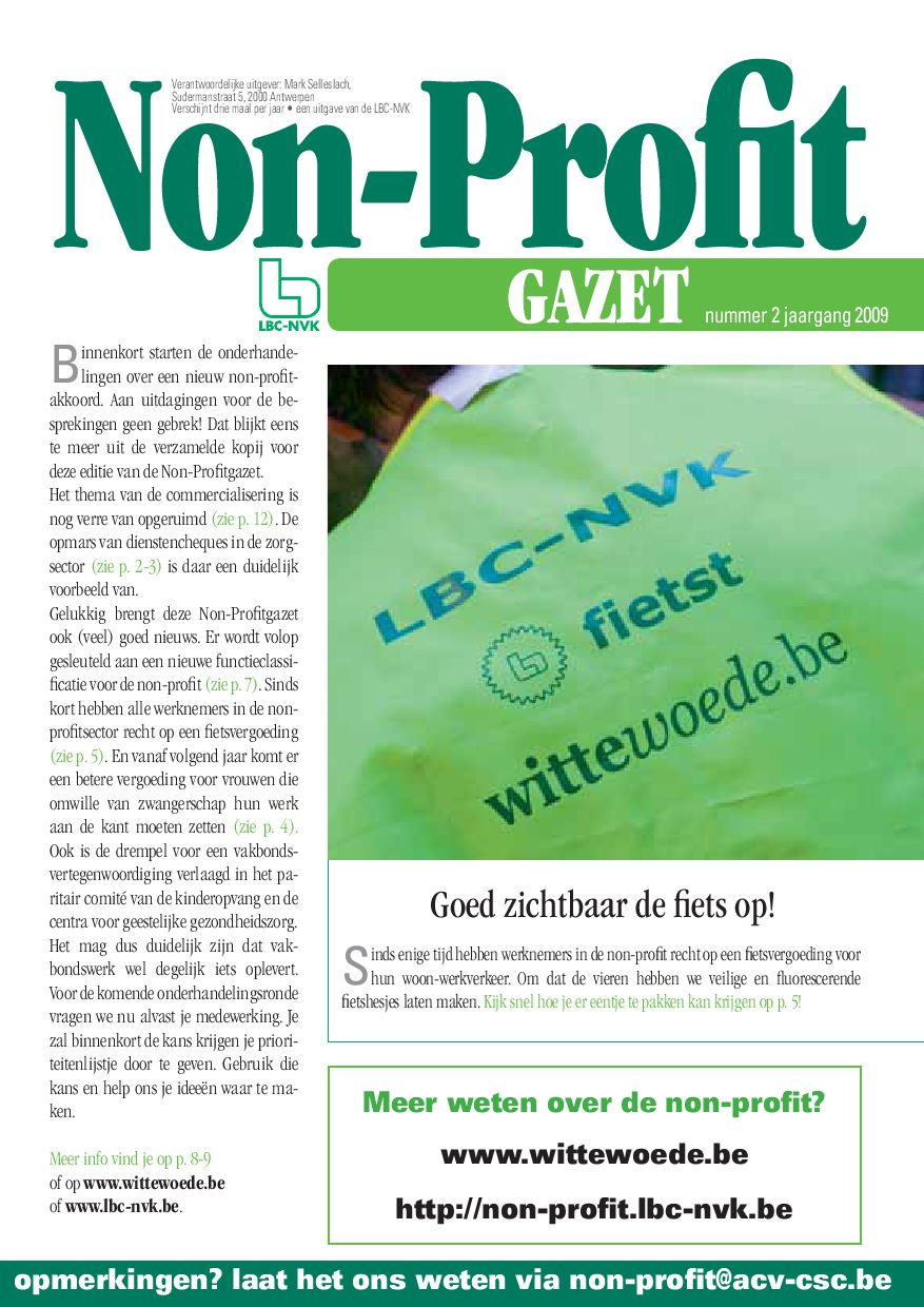 Non Profit gazet by LBC-NVK - issuu