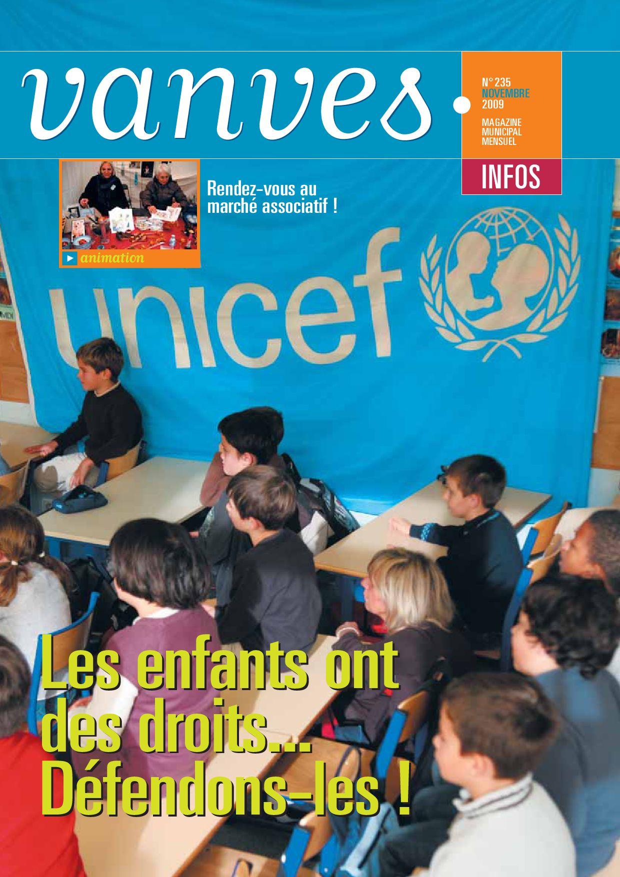 Vanves infos n 235 novembre 2009 by mairie de vanves for Piscine vanves